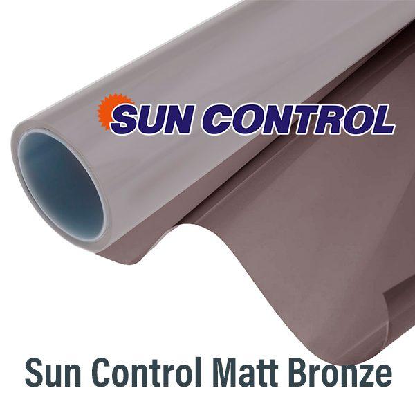 Матовая бронзовая пленка Sun Control